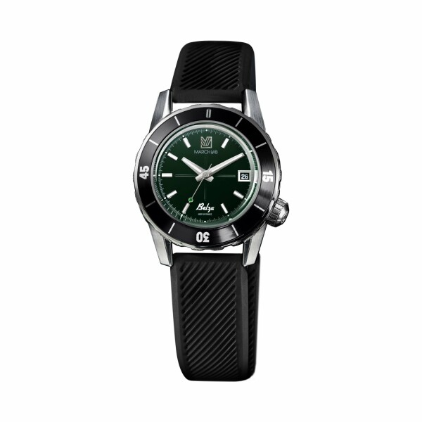 Montre March L.A.B Belza Automatic - Grall - Bracelet silicone