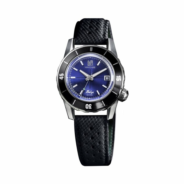 Montre March L.A.B Belza Automatic - Ocean - Bracelet technique bleu