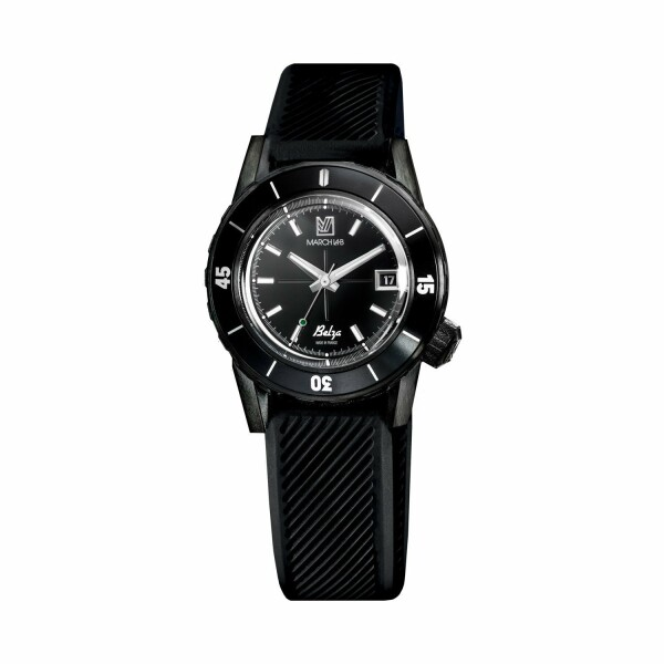 Montre March L.A.B Belza Automatique Shades - Bracelet silicone