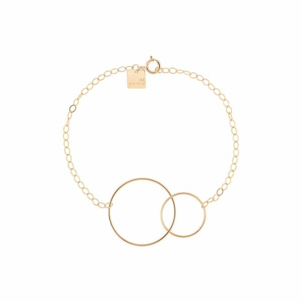 Bracelet GINETTE NY FUSION en or rose