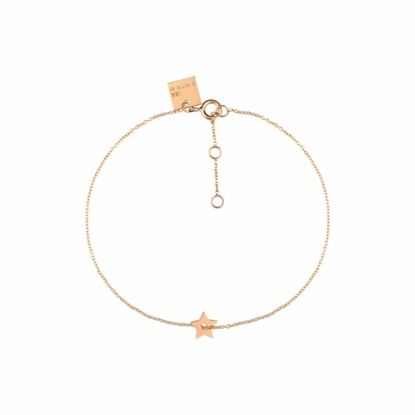 Bracelet GINETTE NY MILKY WAY en or rose