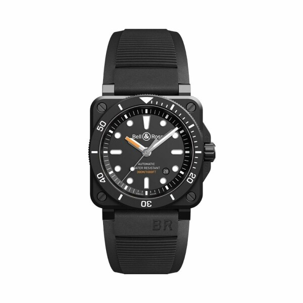 Montre Bell & Ross BR03-92 Diver Black Matte