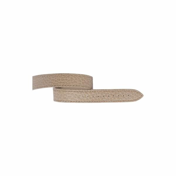 Bracelet Michel Herbelin Antarès en cuir sable