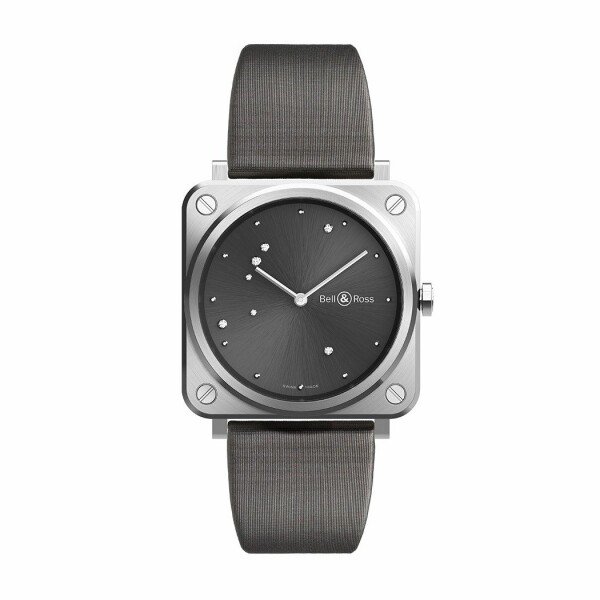 Montre Bell & Ross Instruments BR S (39mm) Grey Diamond Eagle