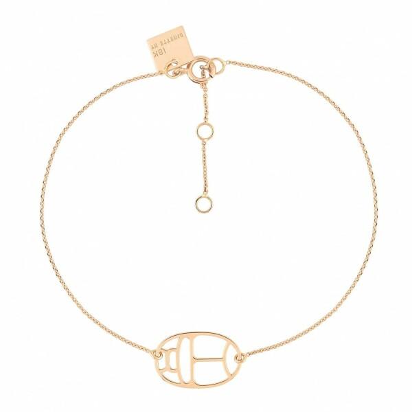 Bracelet GINETTE NY WISH en or rose