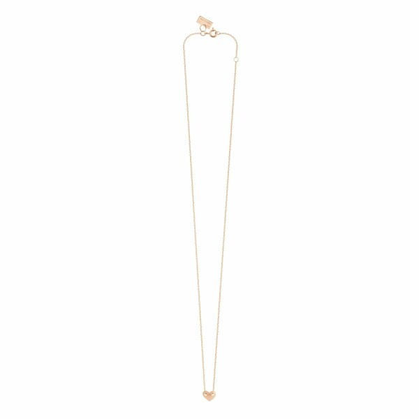 Collier Vanrycke Angie en or rose, taille XS