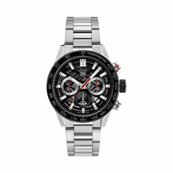 Montre Tag Heuer Carrera Calibre Heuer 02 Automatique Chronographe 43mm