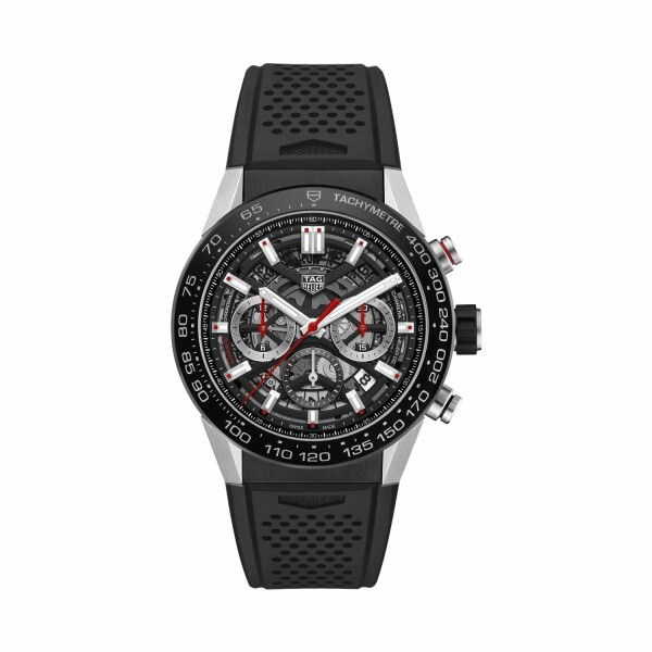 Montre TAG Heuer Carrera Calibre Heuer 02 Automatique Chronographe 45mm