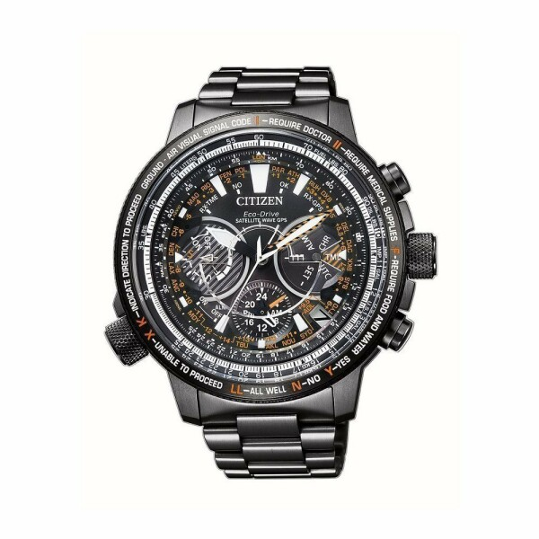 Montre Citizen Satellite Wave Edition 30E Anniversaire CC7015-55E