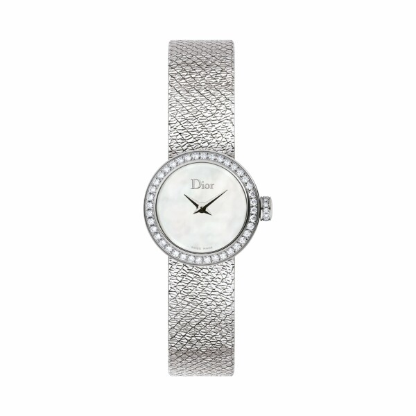 Montre La Mini D de Dior Satine 19mm