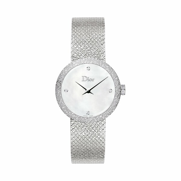 Montre La D de Dior Satine 25mm