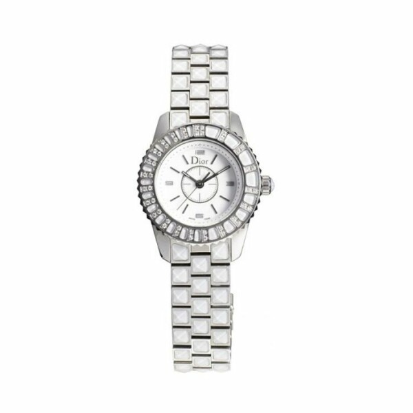 Montre Dior Christal Blanche 28mm