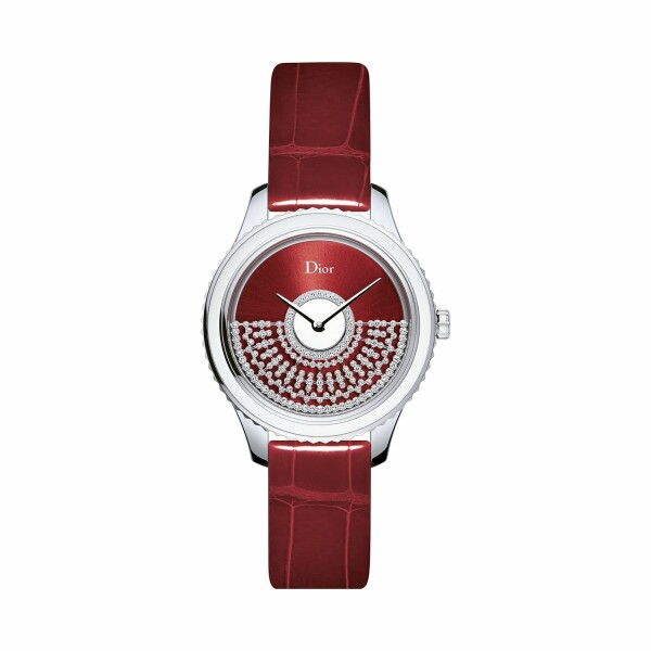 Montre Dior Grand Bal Résille Rouge 36mm