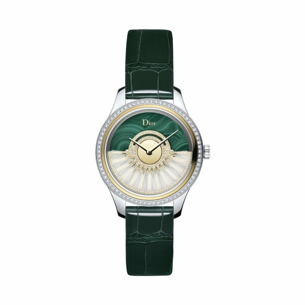 Montre Dior Grand Bal Plume Malachite 36mm
