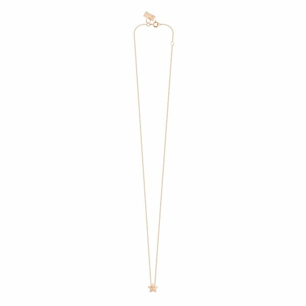 Collier Vanrycke Little Miss Sunshine en or rose