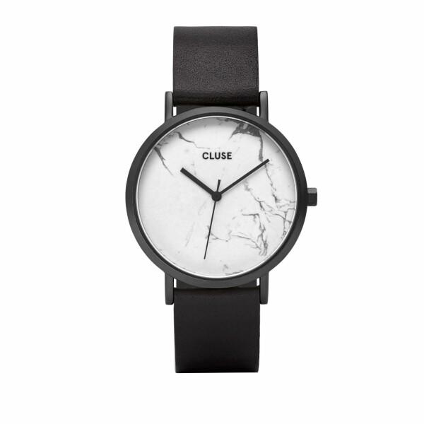 Montre Cluse La Roche Full Black White/Marble