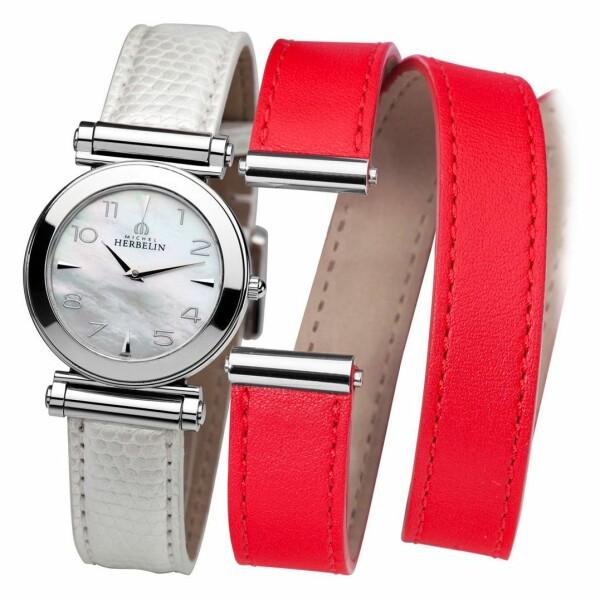 Michel Herbelin Antares Coffret bracelet Cuir COF.17443/19WR