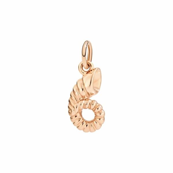 Pendentif Dodo Bélier en or rose