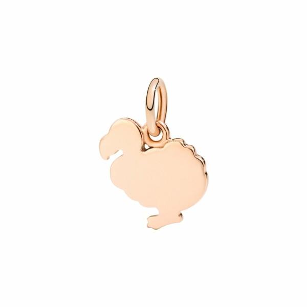 Charm DoDo en or rose moyen modèle