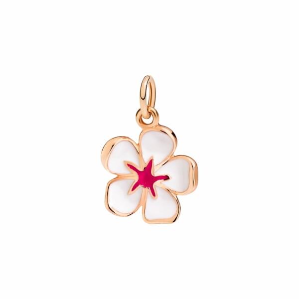 Pendentif DoDo Nature Fleur De Cerisier en or rose et émail