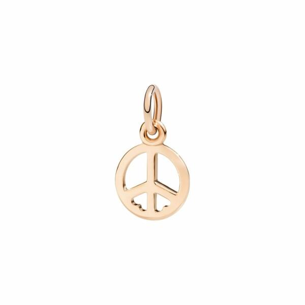 Pendentif Dodo Symbole de Paix en or rose