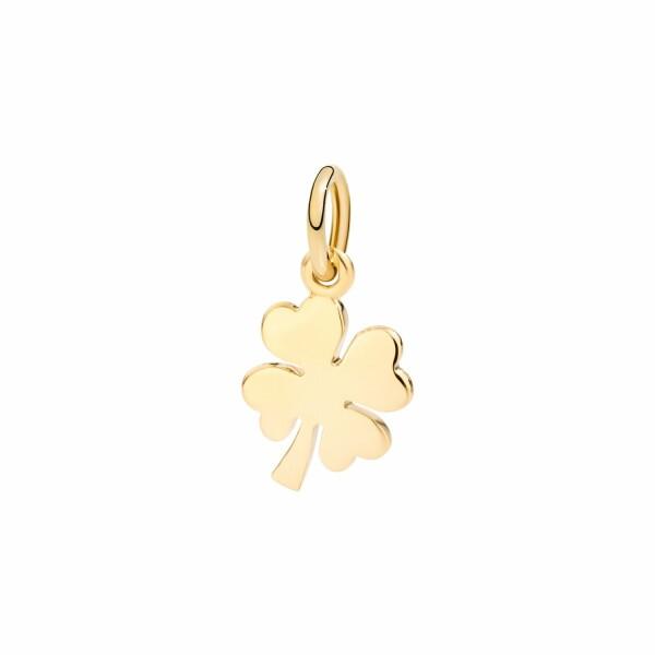 Charm DoDo Trèfle à quatre feuilles en or jaune petit modèle