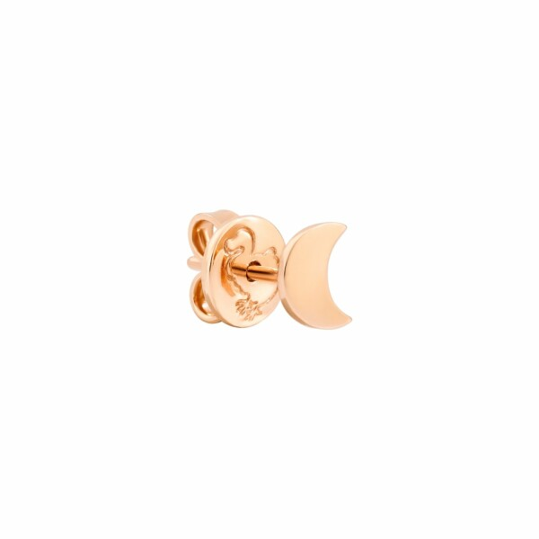 Boucles d'oreilles DoDo Lune en or rose