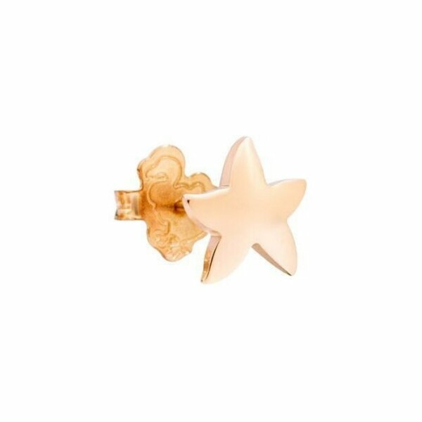 Boucles d'oreilles DoDo Etoile de mer en Or rose