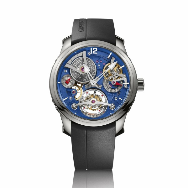 Montre Greubel Forsey Double Tourbillon Technique Blue