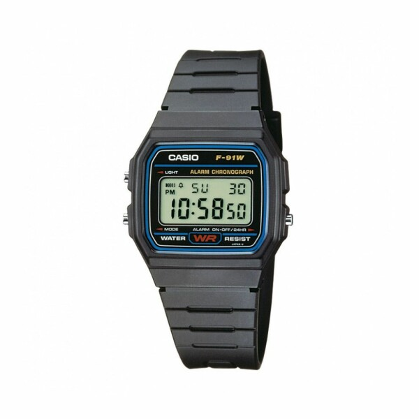 Montre Casio Collection F-91W-1YER