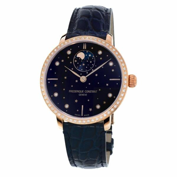Montre Frédérique Constant Manufacture Slimline Moonphase Stars