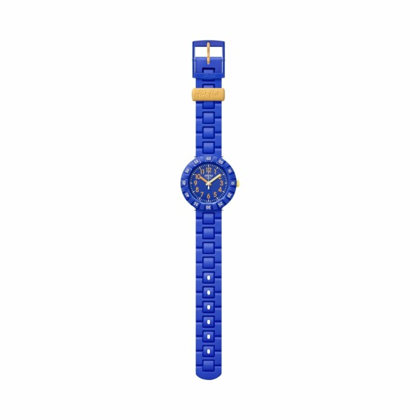 Montre Flik Flak Power Time Solo Blue