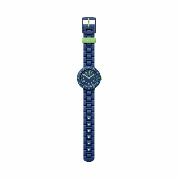Montre Flik Flak Power Time Solo Dark Blue