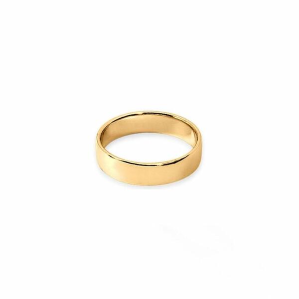 Alliance Fidélis en or jaune, 5mm