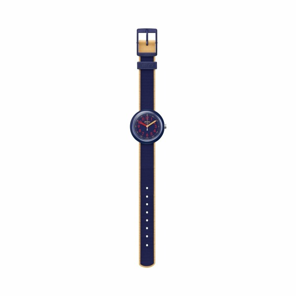 Montre Flik Flak Power Time Color Blast Blue