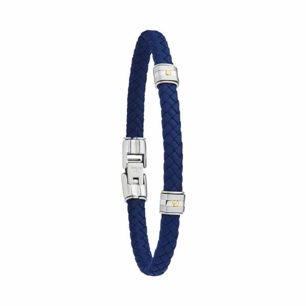 Bracelet Jourdan Bijoux Hudson en tresse synthétique et acier