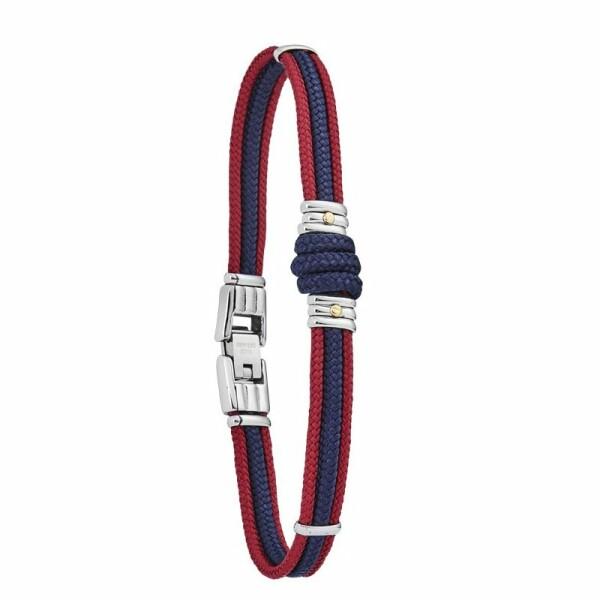 Bracelet sur cordon Jourdan Bijoux Omaha en acier