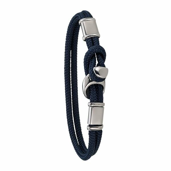 Bracelet sur cordon Jourdan Bijoux Tribord en acier
