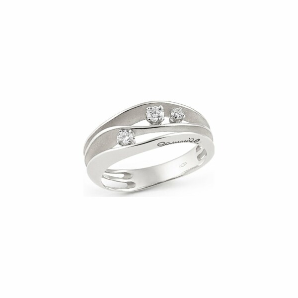 Bague ANNAMARIA CAMMILLI Dune en or blanc White Ice et diamants