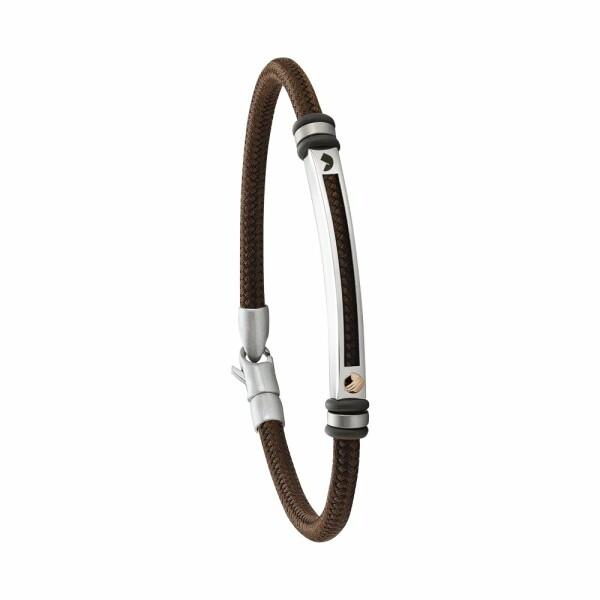 Bracelet Jourdan Bijoux Baïa en polyester et acier