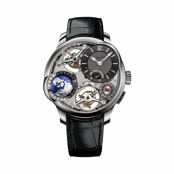 Montre Greubel Forsey GMT Quadruple Tourbillon