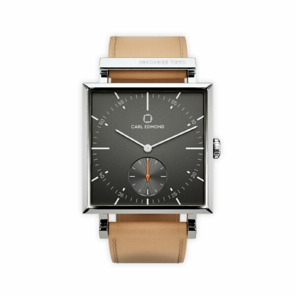 Montre Carl Edmond Granit Gunmetal