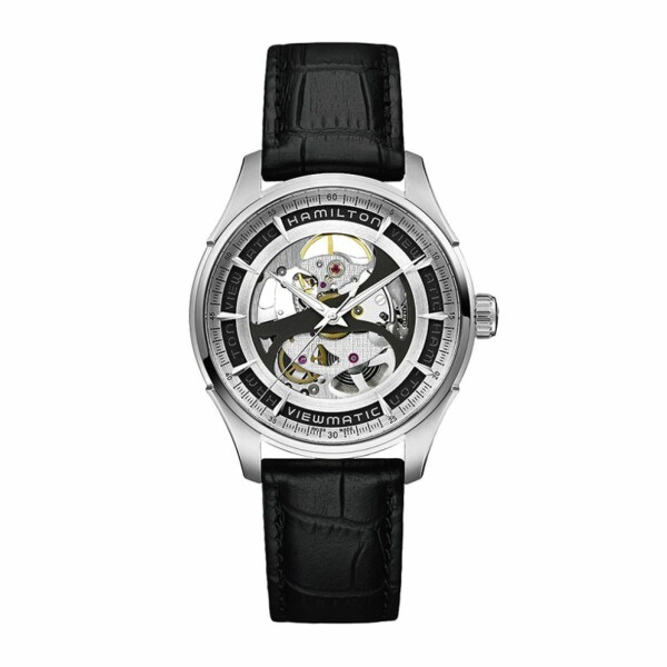 Montre Hamilton Jazzmaster Viewmatic Skeleton Gent Auto