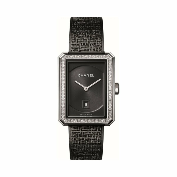 Montre CHANEL BOY∙FRIEND TWEED H5318