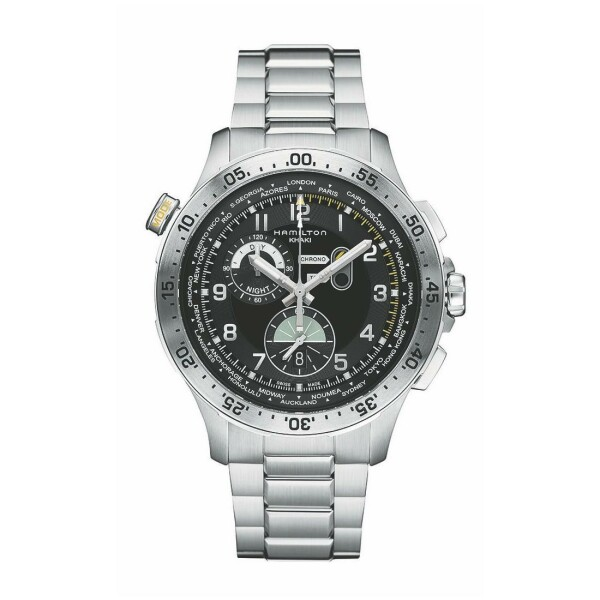 Montre Hamilton Khaki Aviation Worldtimer Quartz