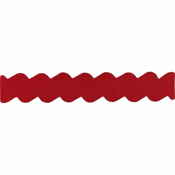 Bracelet Jourdan Bijoux Jiji en cuir rouge