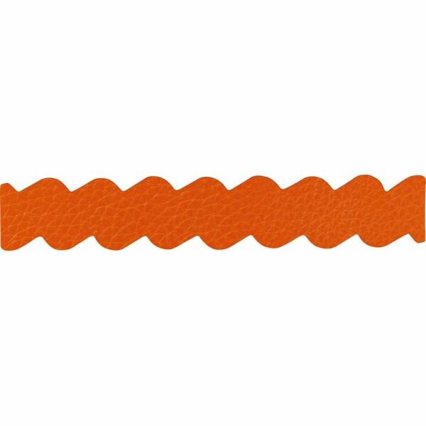 Bracelet Jourdan Bijoux Jiji en cuir orange
