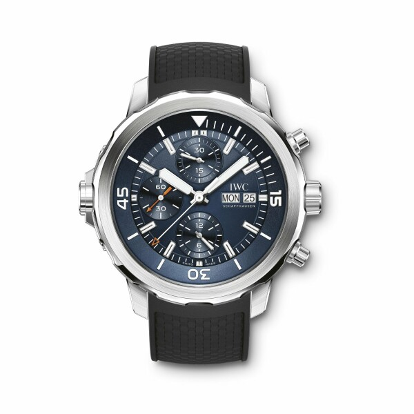 Montre IWC Aquatimer Chronographe Edition Expedition Jacques-Yves Cousteau