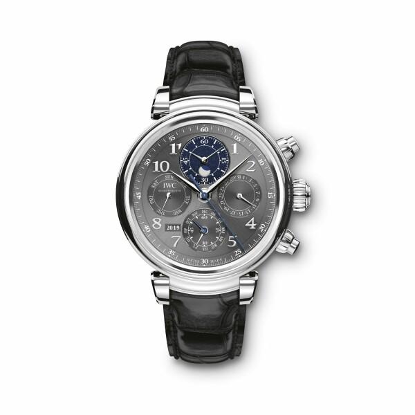 Montre IWC Da Vinci Calendrier Perpétuel Chronographe