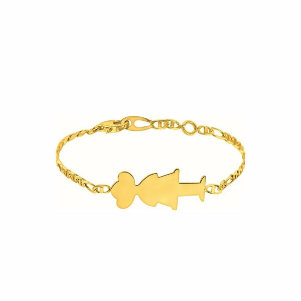 Bracelet Augis petite fille en or jaune